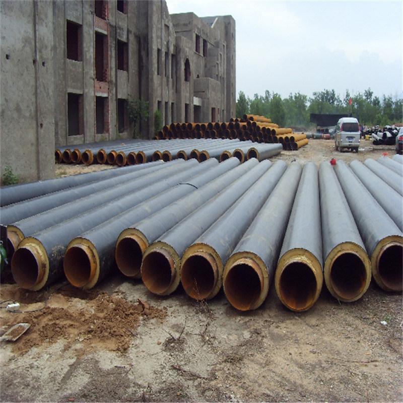 聚氨酯供热管道 预制聚氨酯保温管