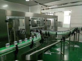 杏仁露饮料生产线(9000罐) 小型杏仁露加工设备-科信饮料机械