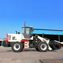 铲车工程上料设备大型搅拌机50铲车安装搅拌斗型号
