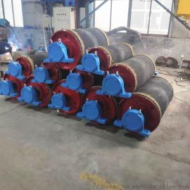 铸焊阻燃包胶传动滚筒 皮带滚轮 75包胶传动滚筒