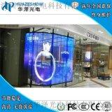 室内透明led显示屏玻璃橱窗广告屏彩色LED透明屏