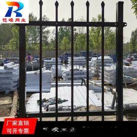 太原双弯锌钢护栏 学校防攀爬锌钢护栏网