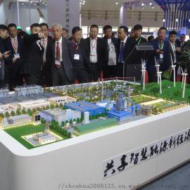 南通光大环保沙盘模型
