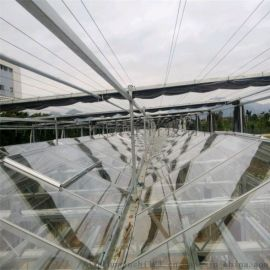 PC板温室建设 阳光板温室大棚设备