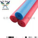 黑 红 黄 蓝 绿 紫 灰色EPE珍珠棉棒生产工厂