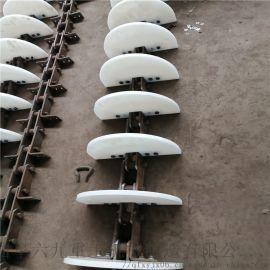 刮板式爬坡输送机 链板式刮板提升机 LJXY 环链
