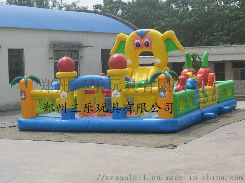山東聊城大型兒童充氣玩具廠家特賣可定製多少錢