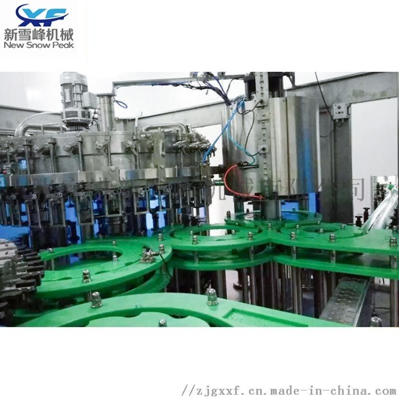 玻璃瓶碳酸饮料灌装机 玻璃瓶果汁饮料灌装机