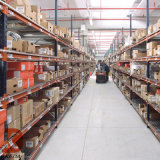 蓝色货架工厂四层标准货架杂物间轻型货架