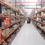 藍色貨架工廠四層標準貨架雜物間輕型貨架