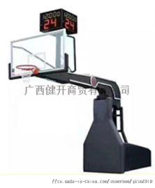 广西南宁电动液压升降比赛篮球架 工厂直销