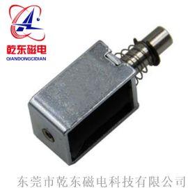 箱柜电磁锁小型牵引电磁铁QDU0730L厂家定制