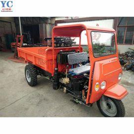 工程三轮车 混凝土运输三轮车 简易棚三轮农用三轮车