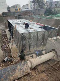马鞍山SW大模块地上消防箱泵一体化项目