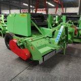 拖拉機牽引粉碎收割打捆機 河南麥秸撿拾打捆機