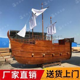 凉山室内海盗装饰船户外景观船价格