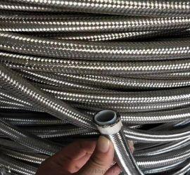 304钢丝编织铁氟龙管 R14标准铁氟龙软管