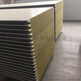 聚氨酯侧封岩棉复合板、聚氨酯侧封岩棉夹芯板