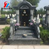 中式墓碑公墓石碑定做供應山西黑G654墓碑陵園墓碑