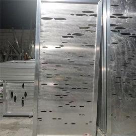 泰州门头木纹穿孔铝单板 梨花木穿孔造型铝单板