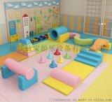 幼兒早教益智類木質軟體爬滑組合玩具