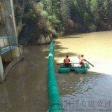 两岸固定水上拦截浮筒 厂家生产浮体