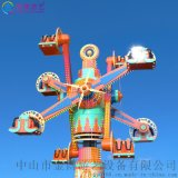 網紅景點機動項目 空中旋轉椅 環遊世界遊樂設備