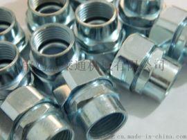 DPJ端式镀锌外丝接头  内丝不锈钢接头