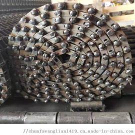 加工流水线传送带马蹄链网带