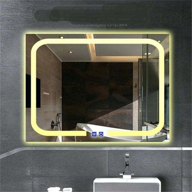 LED化妝鏡廠家直銷,衛生間鏡子多尺寸定製