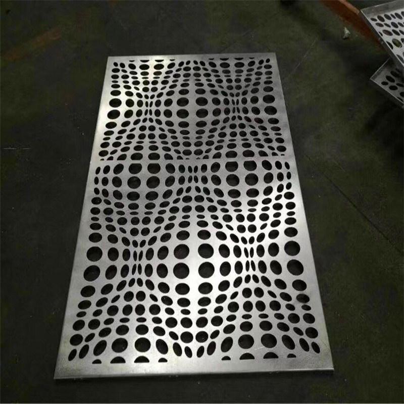 穿孔鋁單板造型圖案 中式衝孔鋁單板背景牆