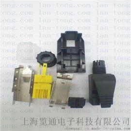 工业rj45连接器水晶头-pn通讯网线