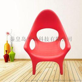 庭院休闲滚塑塑料椅子