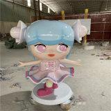 廣州商場玻璃鋼雕塑 卡通熊貓雕塑美陳