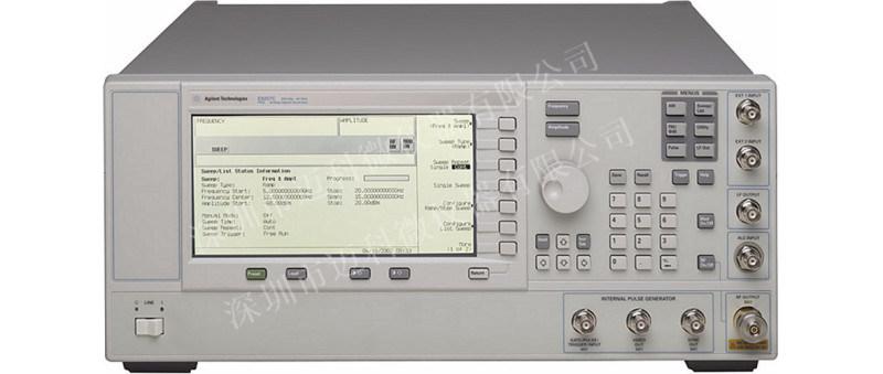 安捷伦信号发生器E8257C自检报错维修