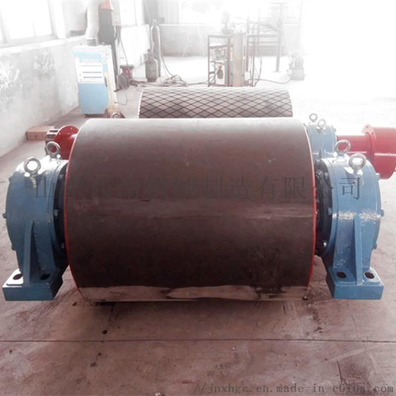 胶面改向滚筒 输送机尾部滚筒实体厂家
