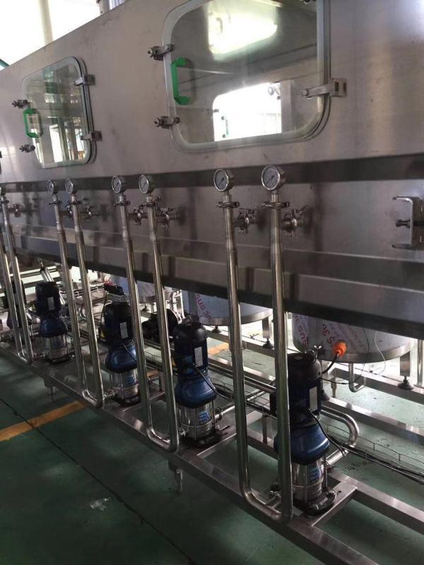 全自動桶裝水生產線 直線灌裝機