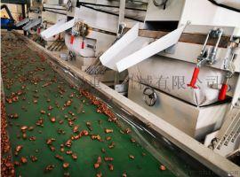 空调散热器铜铝水箱破碎分离设备环保型铜铝铁无损耗