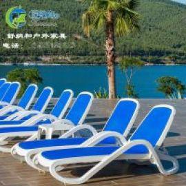 广州舒纳和供应别墅露台泳池休闲折叠沙滩躺椅