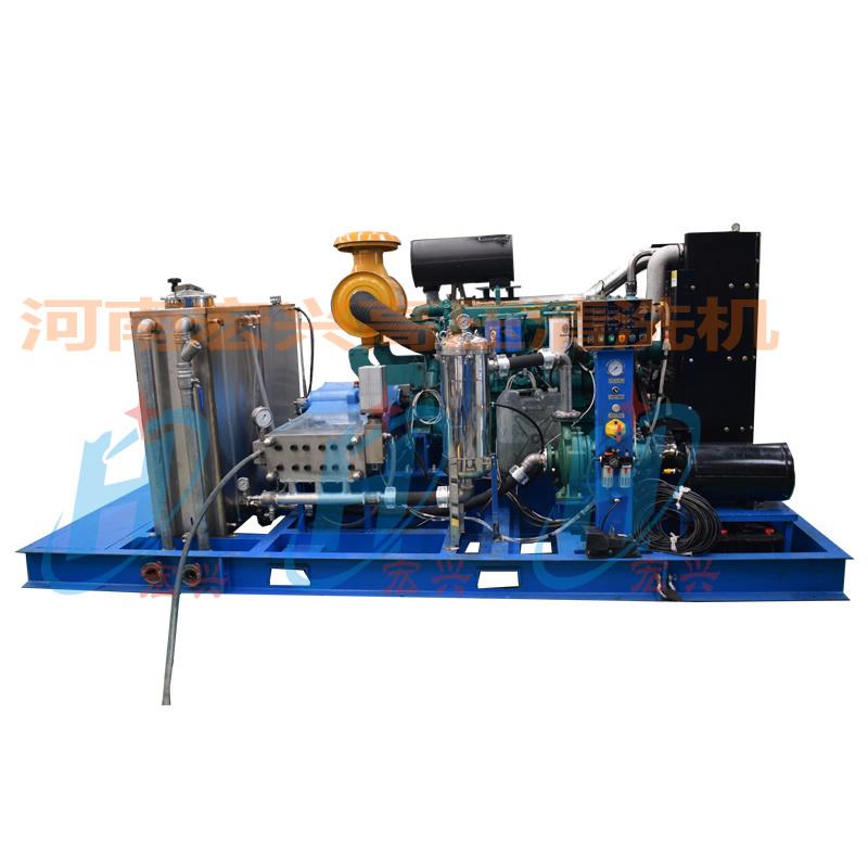 1400公斤打換熱器高壓清洗機 換熱器管道用清洗機