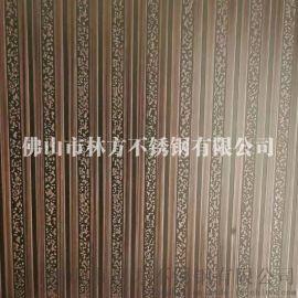 装饰不锈钢镀铜板 别墅装饰墙面板 大堂装饰镀铜板