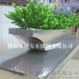 不鏽鋼花盆 戶外擺設不鏽鋼花盆 香檳金不鏽鋼花盆