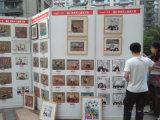 上海戶外兒童美術展布展
