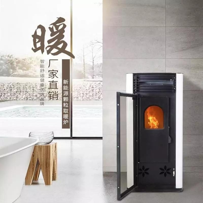 济南家用生物质取暖炉 商用环保颗粒取暖炉厂家直销