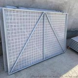 爬架网米字型 镀锌板喷塑 建筑高层施工爬架防护网
