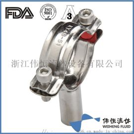 卫生级不锈钢管支架、管夹、管托