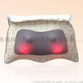 全新车载居家多功能按摩枕 靠垫 揉捏按摩垫