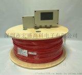 可恢复式感温电缆现场安装图(线型感温火灾探测器)