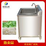 鼓泡翻滾式蔬菜 洗果 氣泡式苦瓜清洗機
