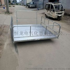 铁路轨道平板小推车工具车地铁梯车制动滑轮电缆平板车